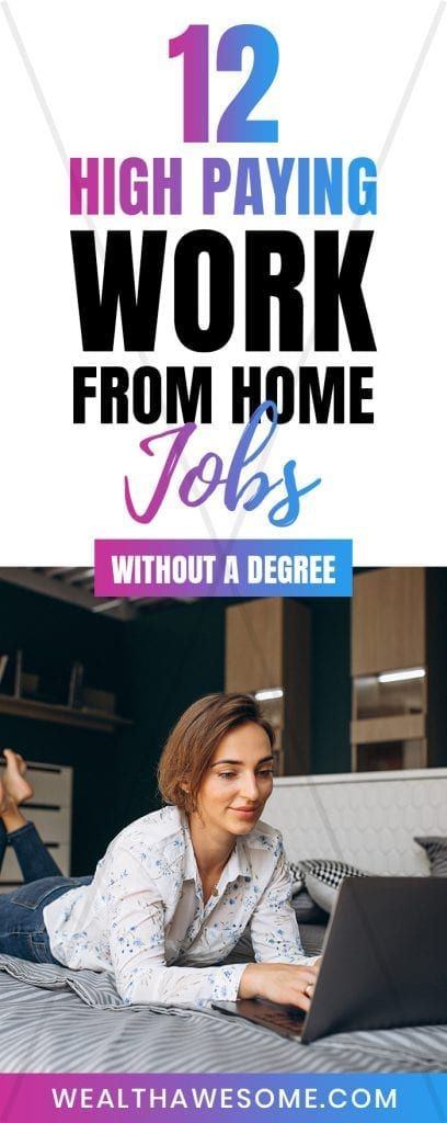 12 Jobs From Home