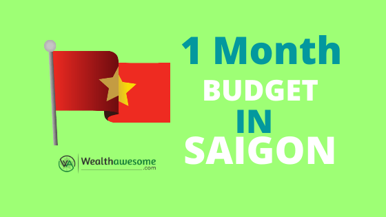 One Month Costs in Saigon