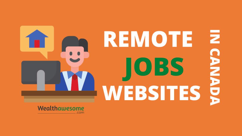 Remote Jobs Websites in Canada