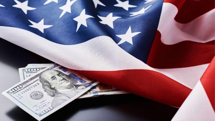 America USA US Flag money