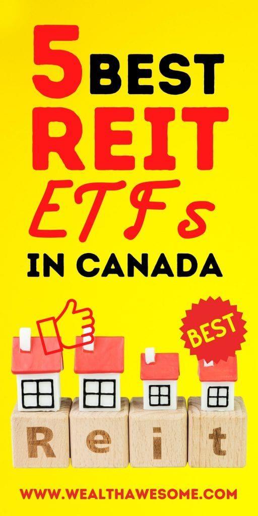 Best REIT ETFs in Canada