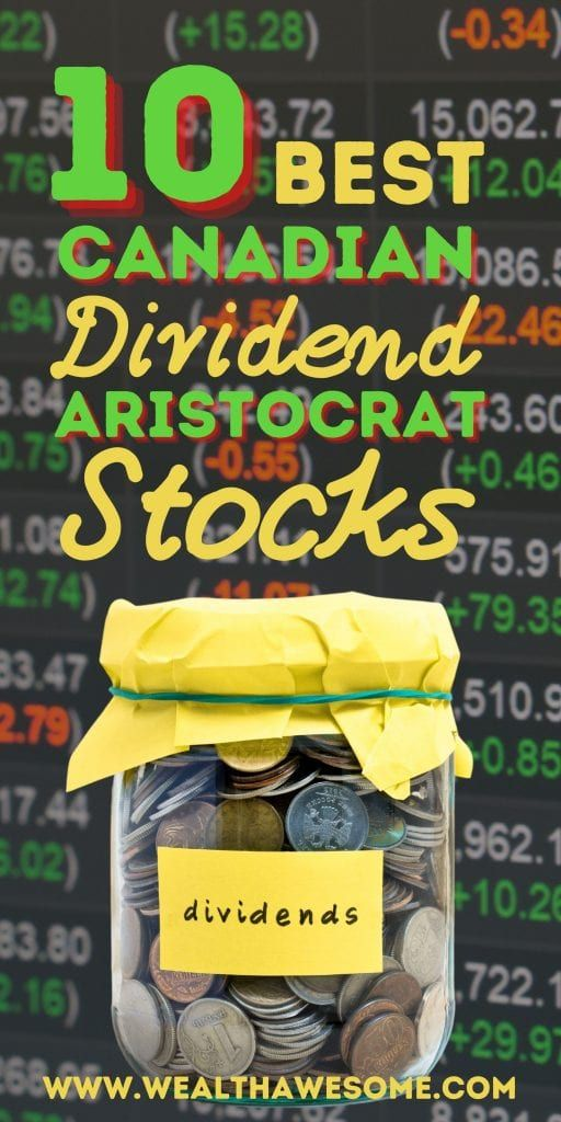 Best Canadian Dividend Aristocrat Stocks
