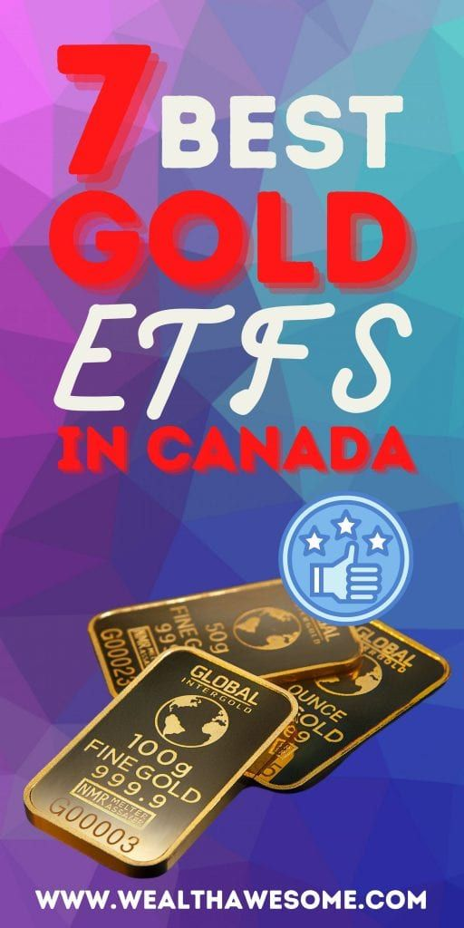 Best Gold ETFs in Canada