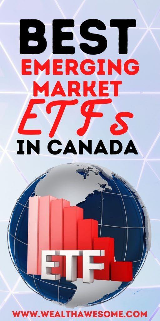 Best Emerging Market ETFs in Canada