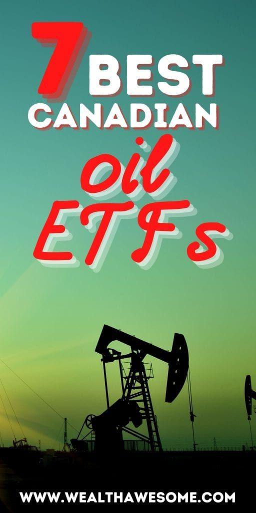 Best Canadian Oil ETFs