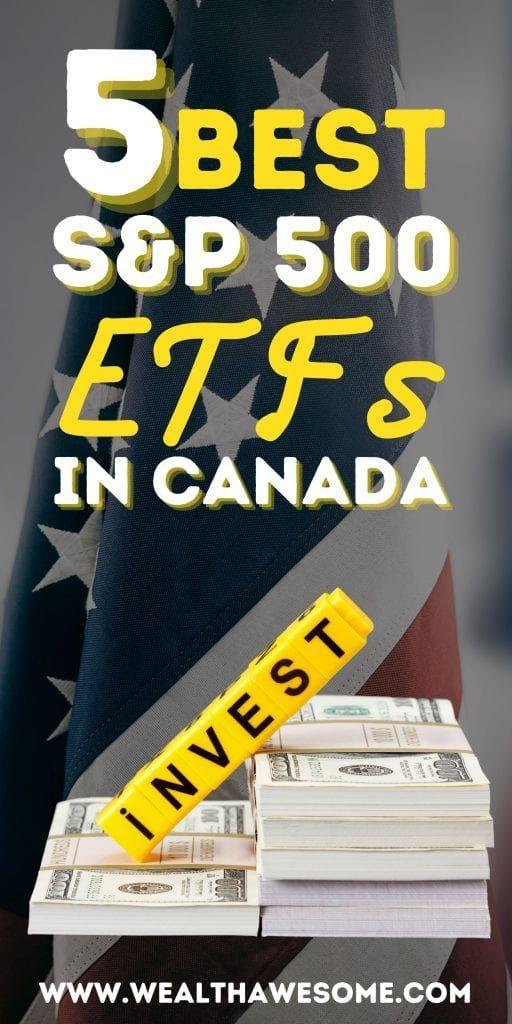 Best S&P 500 ETFs in Canada