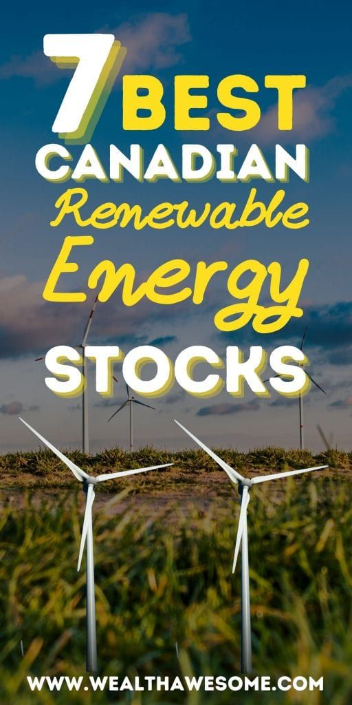 Best Canadian Renewable Energy Stocks
