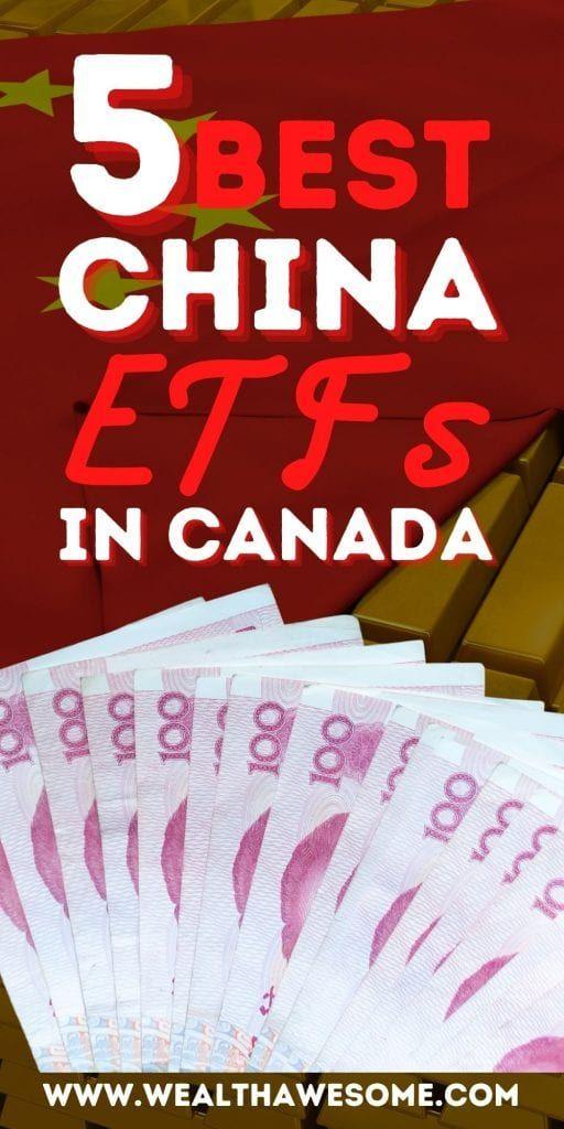 Best China ETFs in Canada