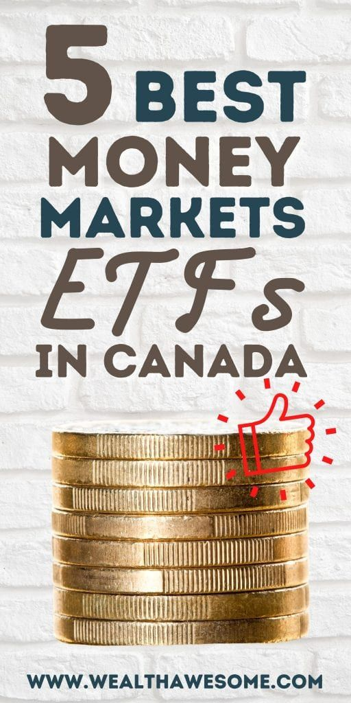 Best Money Market ETFs in Canada