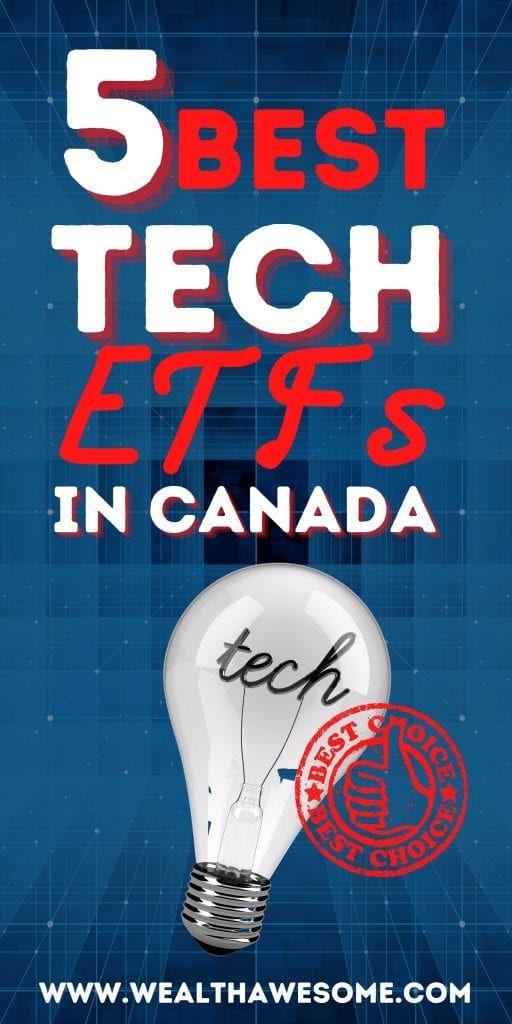 Best Tech ETFs in Canada