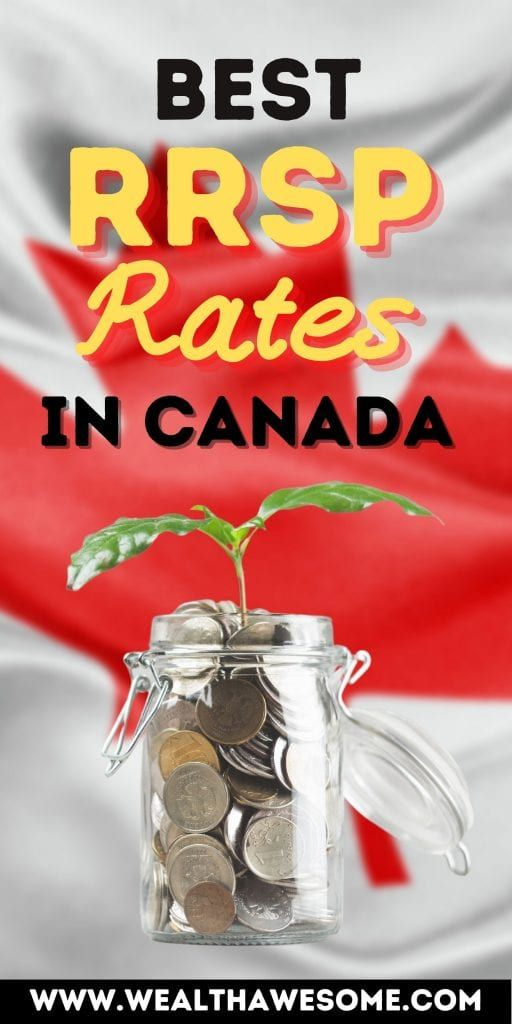 Best RRSP Rates in Canada