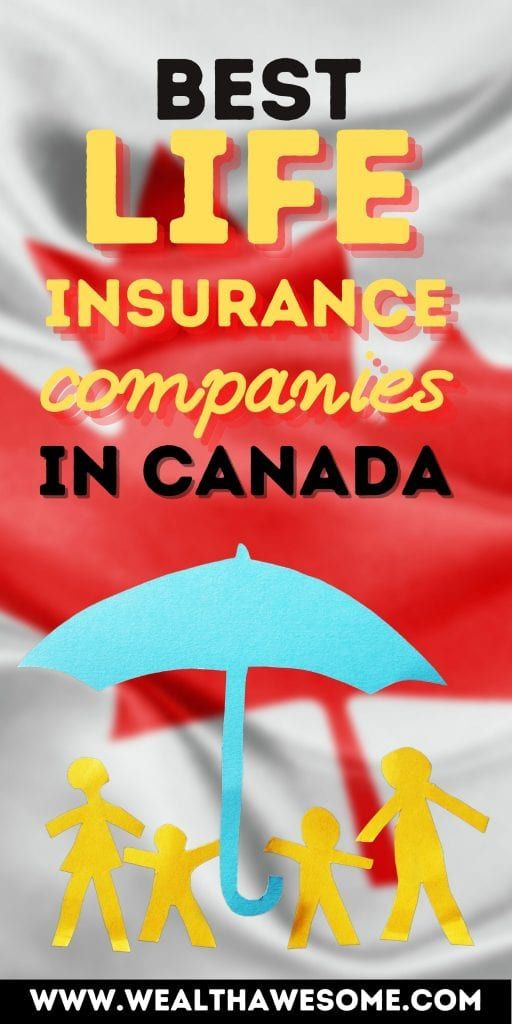 Best life insurance companies in Canada
