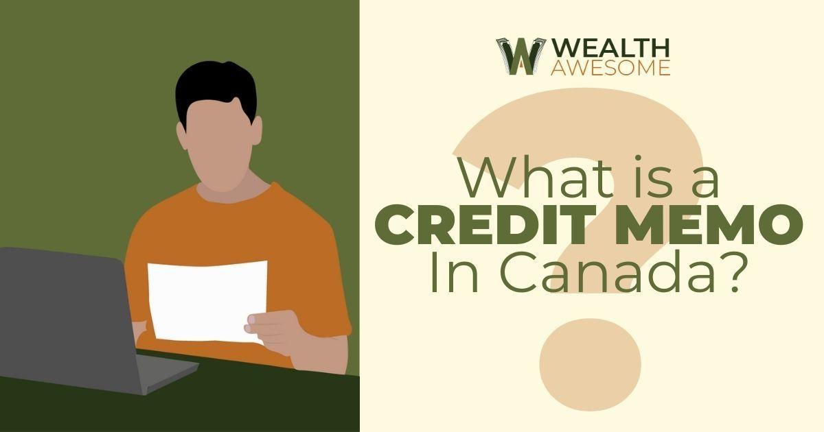 Credit Memo In Canada